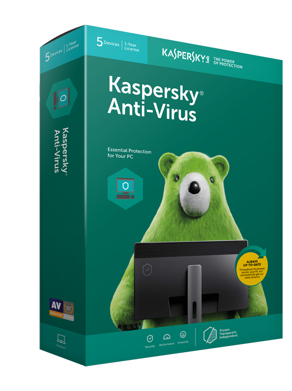 Kaspersky Anti-Virus (Special Promo)