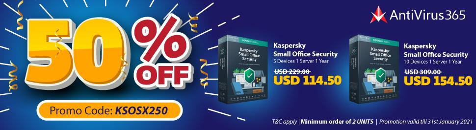AV365 - KSOS 50% Promo_USD