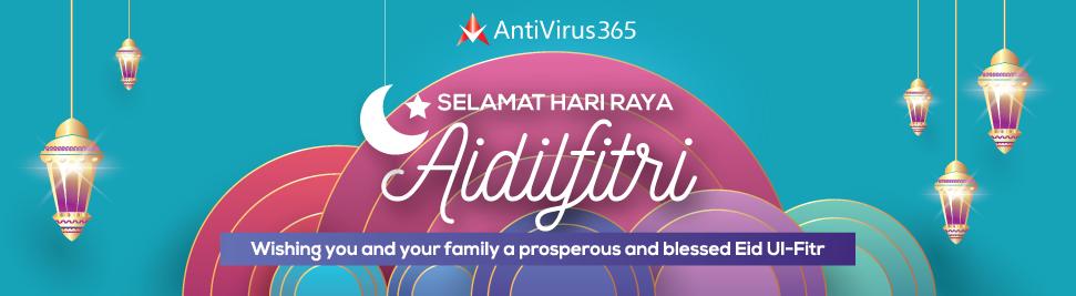 AV365 - Hari Raya Aidilfitri Banner