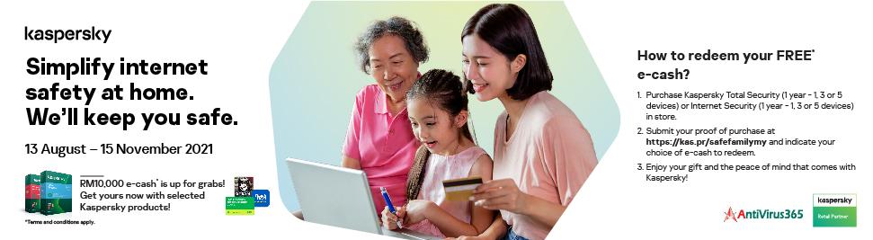 AV365 - Kaspersky Safe Family Campaign